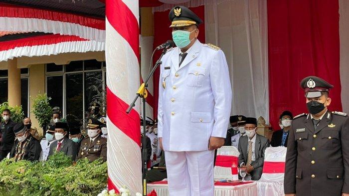 Bupati Aceh Singkil Jadi Inspektur Upacara HUT ke-76 RI