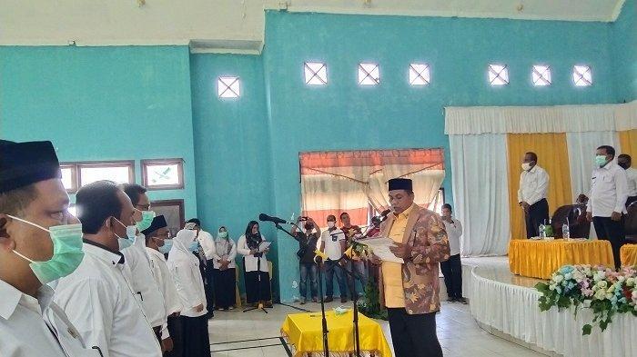 Kukuhkan Kepala Sekolah, Bupati Aceh Singkil Instruksikan Kejar Ketertinggalan karena Covid-19