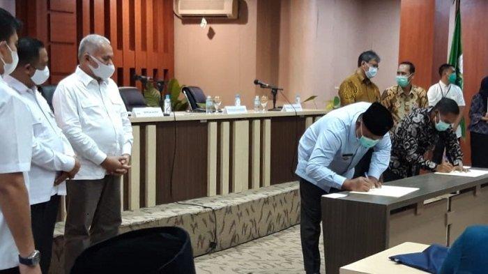 Bupati Aceh Singkil Teken Perjanjian dengan BPKP
