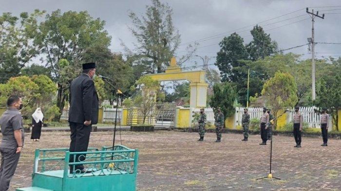 Peringatan Hari Kesaktian Pancasila Berlangsung Khidmat di Aceh Singkil, Dulmusrid Inspektur Upacara