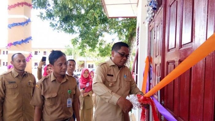 Bupati Aceh Singkil Resmikan Gedung Baru SMPN 1 Gunung Meriah