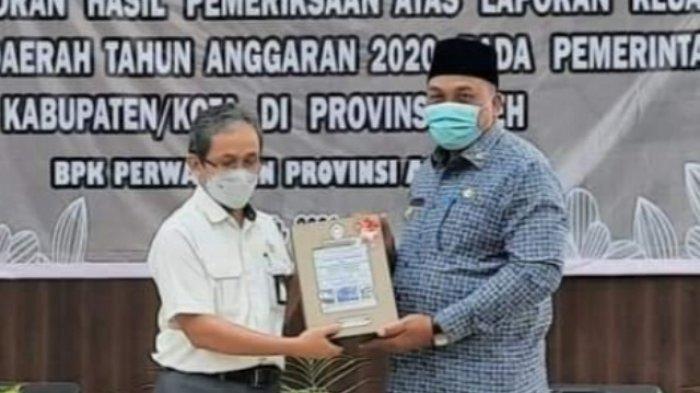 Aceh Singkil Kembali Raih Opini WTP