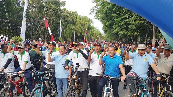 Fun Bike HUT Tamiang Banjir Sepmor