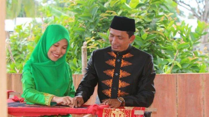 Kain Motif Situnjoeng, Andalan Dekranasda Aceh Selatan Dalam Perhelatan Cerita Wastra 2021