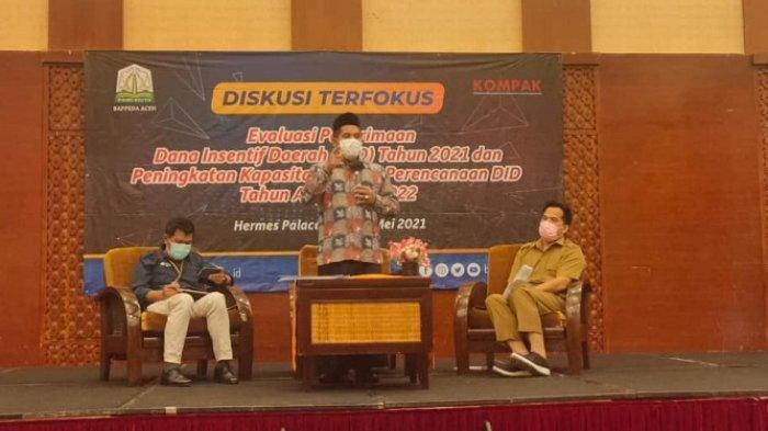 Bupati Sarkawi Jadi Narasumber Diskusi Evaluasi Dana Insentif Daerah