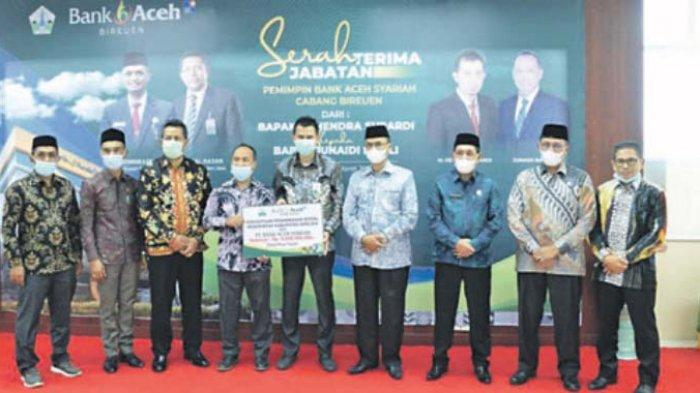 Wujud Komitmen Dukung BAS, Bupati Bireuen Tambah Modal Rp 4 Miliar untuk Bank Aceh Syariah