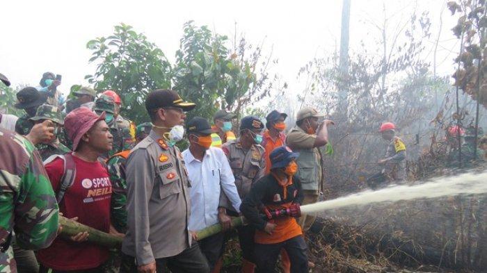 Polisi di Nagan Raya Usut Penyebab Karhutla