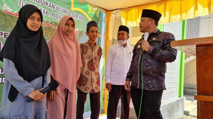 Bupati Resmikan Asrama Putri MUQ, Pesantren Ini Diharap Jadi Cikal Bakal Pidie Jaya Kabupaten Tahfiz