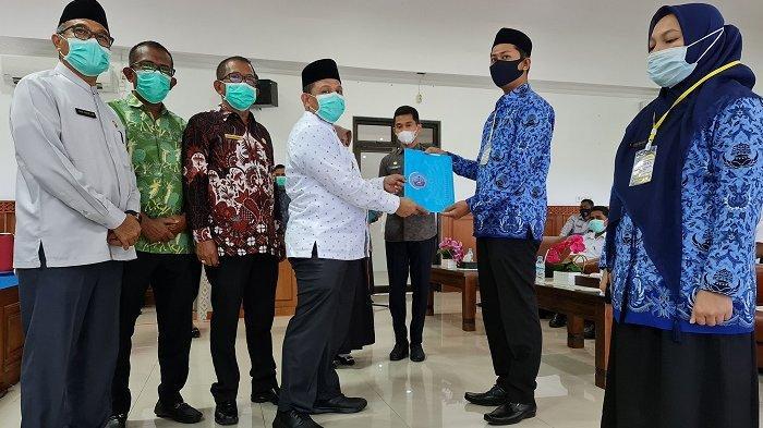 114 CPNS Formasi 2019 Pidie Jaya Terima SK Tugas, Ini Penegasan Bupati dan Sanksi Pemecatan