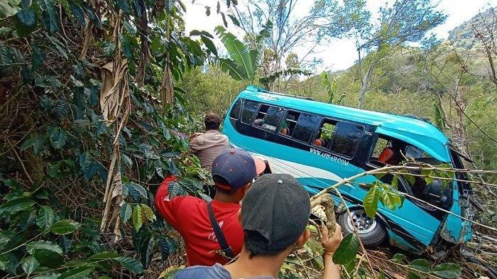 Ini Penegasan Dirlantas Polda Aceh Terkait Insiden Bus Masuk Jurang di Pantan Terong