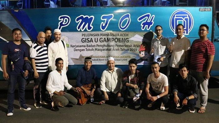 Pemerintah Aceh Fasilitasi Mahasiswa Mudik Gratis dari Jakarta