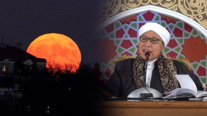 Gerhana Bulan Total Terjadi 26 Mei 2021, Kapan Waktu Shalat Khusuf? Berikut Penjelasan Buya Yahya