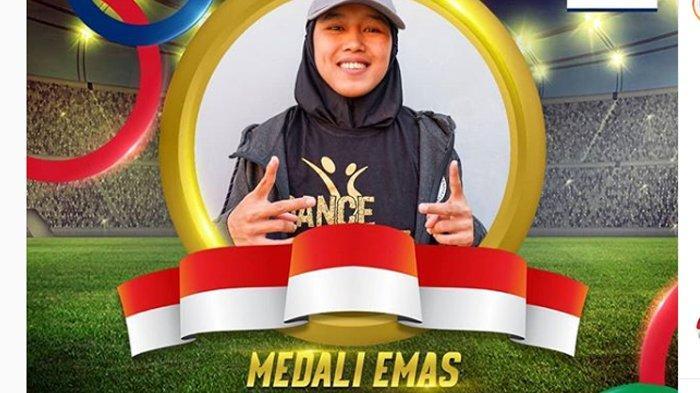 Dwi Cindy Desyana Kalahkan Filipina, Cabang Dancesport Sumbang Emas Kedua Indonesia SEA Games 2019
