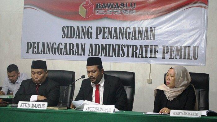 Panwaslih Aceh Tamiang Putuskan Caleg PKS tak Melanggar Administrasi