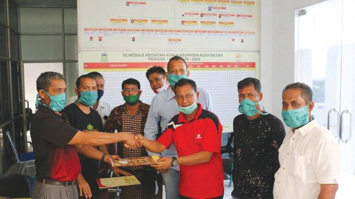 48 Klub Usung Muslem, Jelang Muskab PSSI Aceh Besar