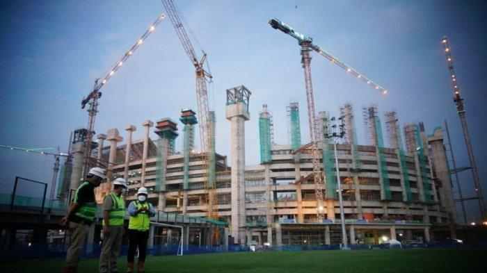 Stadion JIS - Calon markas baru Persija Jakarta yakni Jakarta Internasional Stadium (JIS) sudah langsung memecahkan rekor MURI meski bangunannya belum rampung