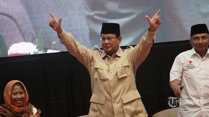 Sidang Sengketa Pilpres 2019 Dimulai Besok, Ini 5 Imbauan Prabowo Subianto kepada Pendukungnya