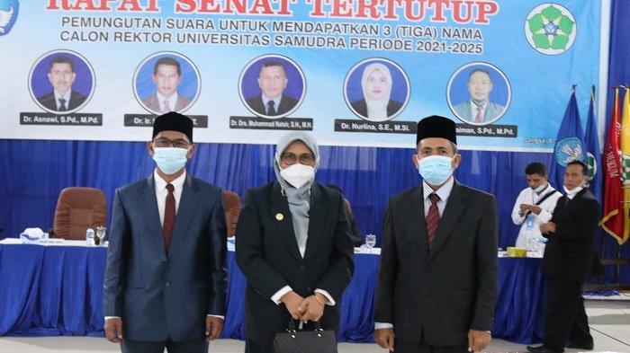 Senat Tetapkan Tiga Calon Rektor Unsam Langsa Periode 2021-2025