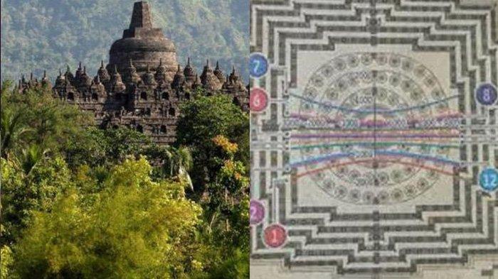 Misteri Jam Raksasa di Candi Borobudur, Bukti Mahakarya Wangsa Syailendra Penuh 'Keajaiban'