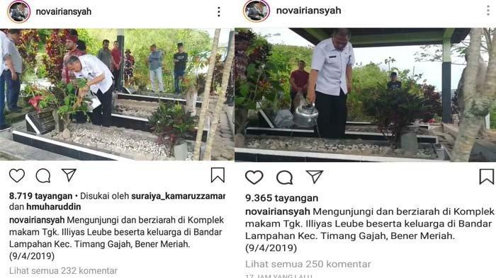 IG Nova Iriansyah Mendadak Banjir Komentar, Dicecar Netizen terkait Demo PT EMM