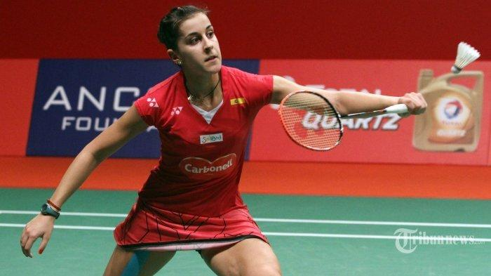 DENMARK OPEN 2020 – Live di TVRI dan Streaming Youtube BWF, Carolina Marin Tantang Pemain Rusia