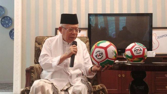 Ma'ruf Amin Jalani Latihan Persiapan Debat, Dibekali Strategi Komunikasi Politik
