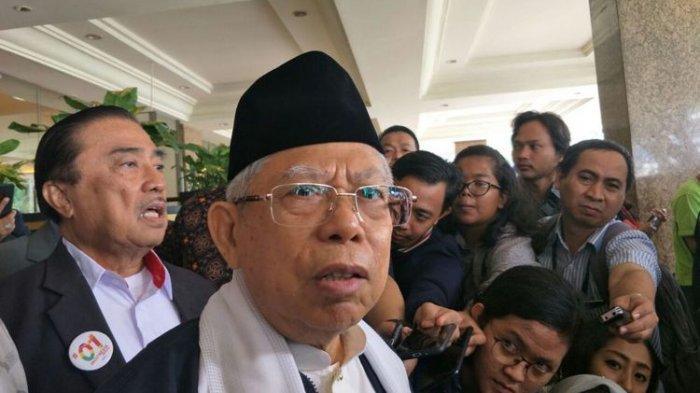 Wakil Presiden Terpilih Ma'ruf Amin Mengaku Tak Dilibatkan Dalam Pemilihan Menteri Kabinet
