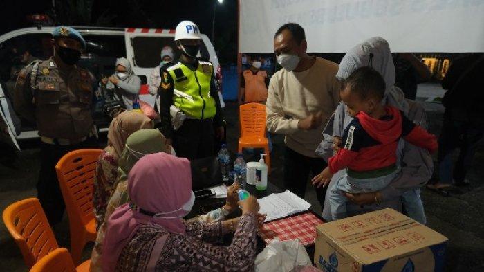 Cegah Covid-19, Pelaku Perjalanan Dirapid Test Antigen di Posko Perbatasan Aceh-Sumut, Subulussalam
