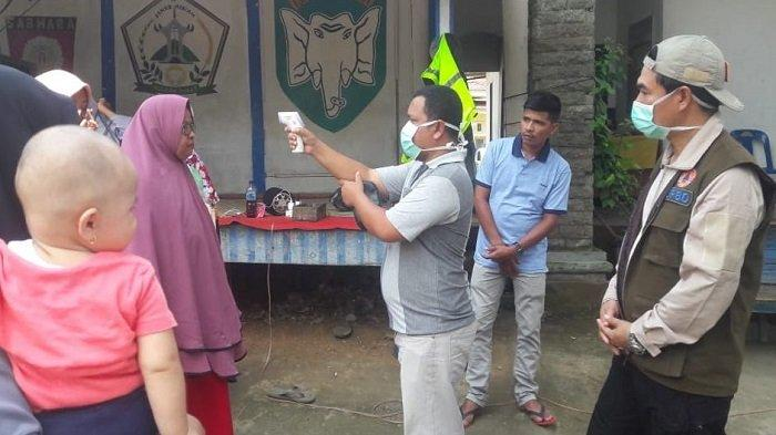 Bener Meriah Perketat Perbatasan,Pengguna JalanDiperiksa Suhu Tubuh untuk Cegah Covid-19