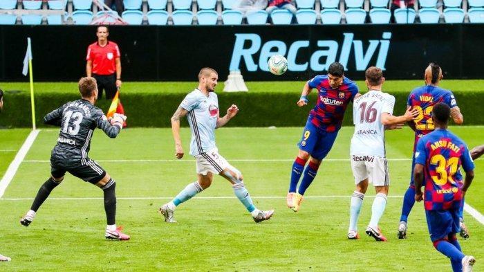 Barcelona Tertahan di Markas Celta Vigo, Gol Tuan Rumah Mirip Free-kick Lionel Messi