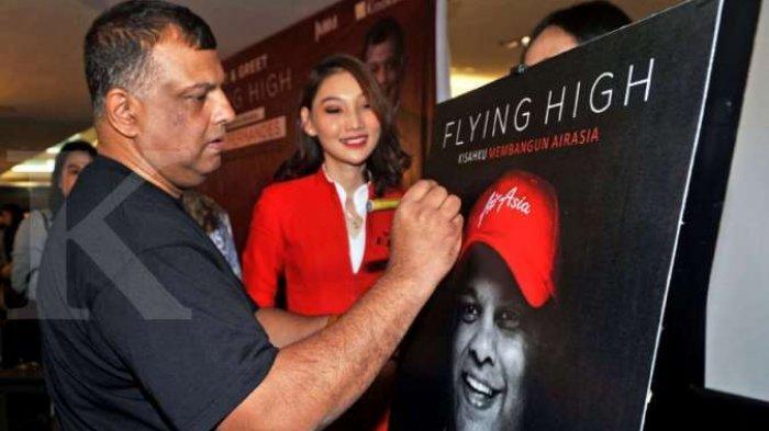 Dalam Buku Ini, CEO AirAsia Tony Fernandes Beberkan Kisah Suksesnya