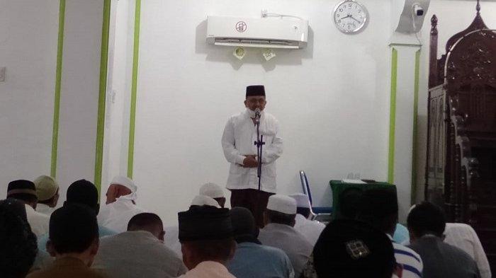 Wawali Langsa Isi Ceramah di Masjid Taqwa
