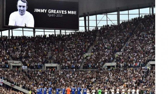Chelsea Bungkam Tottenham Hostspurs, Kedua Tim Beri Penghormatan Terakhir ke Jimmy Greaves