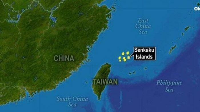 AS Dukung Jepang Hadapi China yang Klaim Pulau Senkaku Miliknya