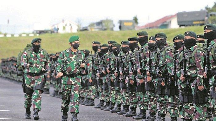 450 Prajurit TNI dari Aceh Bertugas ke Papua, Dilepas Pangdam IM dari Bandara Rembele