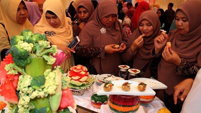 Aceh Timur Ikut Lomba Masak Serba Ikan di Aceh Culinery Festival