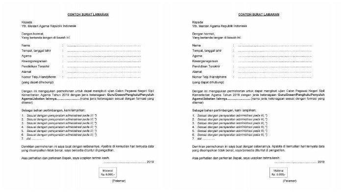 Link Download Panduan Surat Lamaran CPNS 2019: Kemendikbud, Kemenag hingga Kemenlu