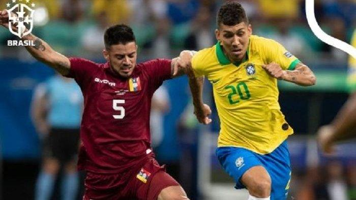 Hasil Copa Amerika - Ditahan Venezuela, Brasil Tertunda ke Perempat Final, 3 Gol Firmino Dianulir