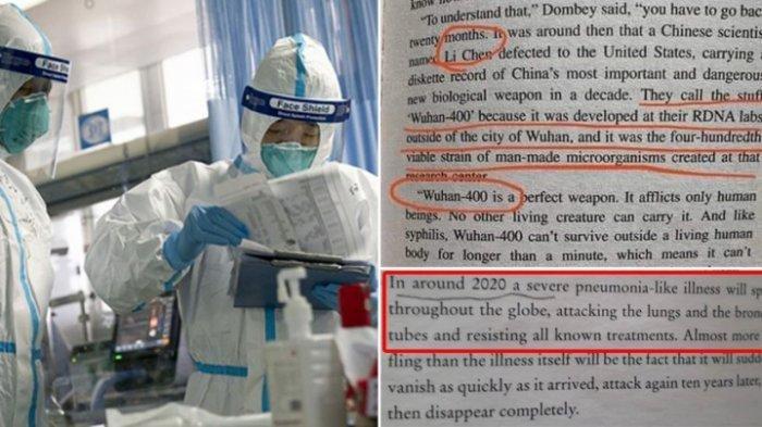 Viral! Sebuah Buku Terbitan Tahun 1981 Prediksi Kemunculan Virus Corona di Wuhan Tahun 2020