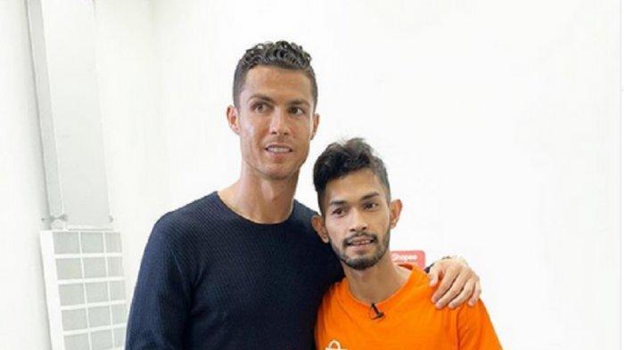 Martunis Ngaku Tak Pernah Merasa jadi Anak Angkat Ronaldo: Saya Tak Pernah Beranggapan Gitu