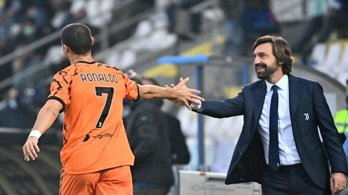 Jelang Duel Juventus vs Porto Dini Hari Nanti, Andrea Pirlo Berharap Banyak pada Cristiano Ronaldo