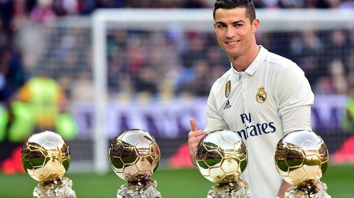 Penghargaan Ballon d'Or 2017 Diumumkan di Prancis Malam Ini, Cristiano Ronaldo Jadi Unggulan