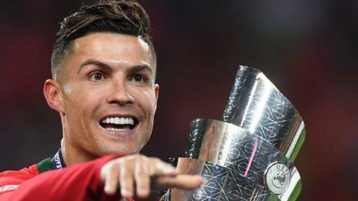 Kebahagiaan Ronaldo Usai Portugal Juarai UEFA Nations League, Sang Bintang Masih Ingin Ballon d'Or