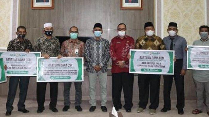Bank Aceh Syariah Cabang Tapaktuan Kembali Serahkan CSR Rp 436.535.000, Ini Rinciannya