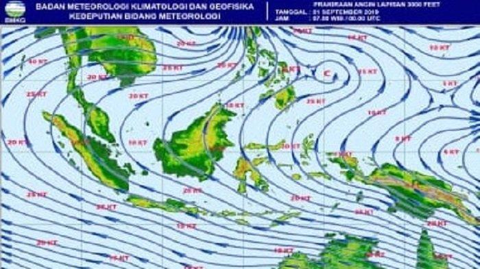 BMKG Keluarkan Peringatan Dini, Cuaca Ekstrem Diprediksi Landa Sebagian Wilayah Aceh