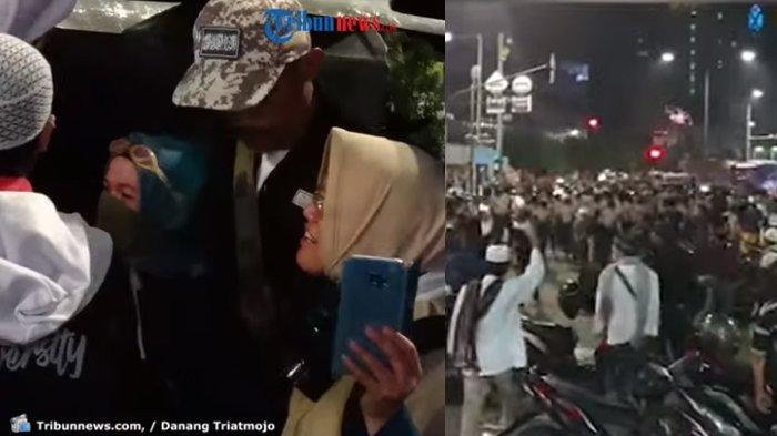 Kumpulan Video Demo di Depan Bawaslu, dari Aksi Emak-emak Hingga Massa Janji Kembali Besok Siang