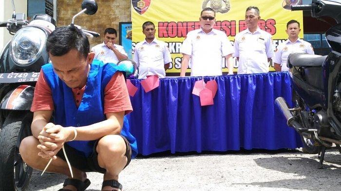 Setahun dalam Pelarian, Satreskrim Polres Aceh Tengah Bekuk Buronan Kasus Curanmor