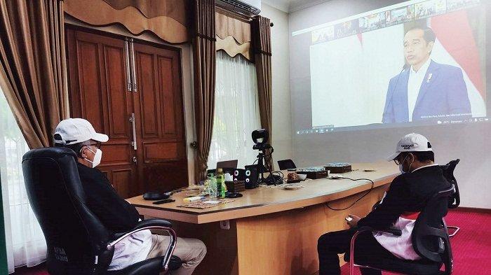 Gubernur Aceh Ikuti Haornas Secara Virtual