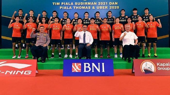Daftar Skuat Indonesia di Piala Thomas dan Uber Cup 2020, Berikut Jadwal Tanding Tim Merah Putih