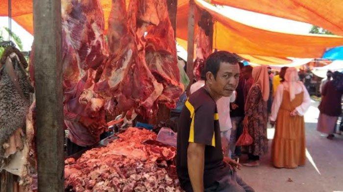 Permintaan Daging Meugang Idul Adha 1442 Hijriah Cukup Lesu, Harga Tembus Rp 170 Ribu Per Kg